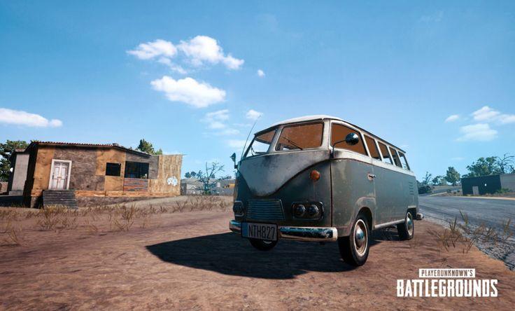 PlayerUnknowns Battlegrounds neues Fahrzeug - ein VW Bulli! - #PlayerUnknownsBattlegrounds #PUBG #PlayerUnknown #PvP #OpenWorld #survivalgame #gaming #games #videospiele