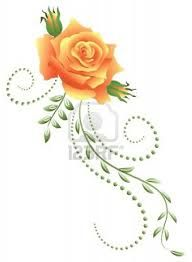 yellow rose tattoo - Google Search