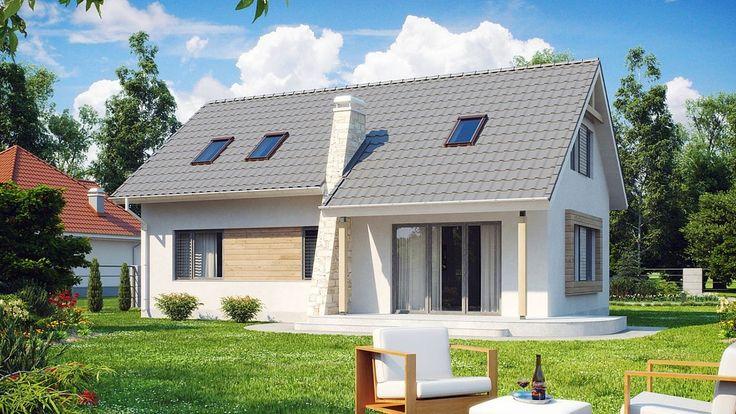 Projekt domu SZ5 Z111 - DOM OZ1-84 - gotowy projekt domu
