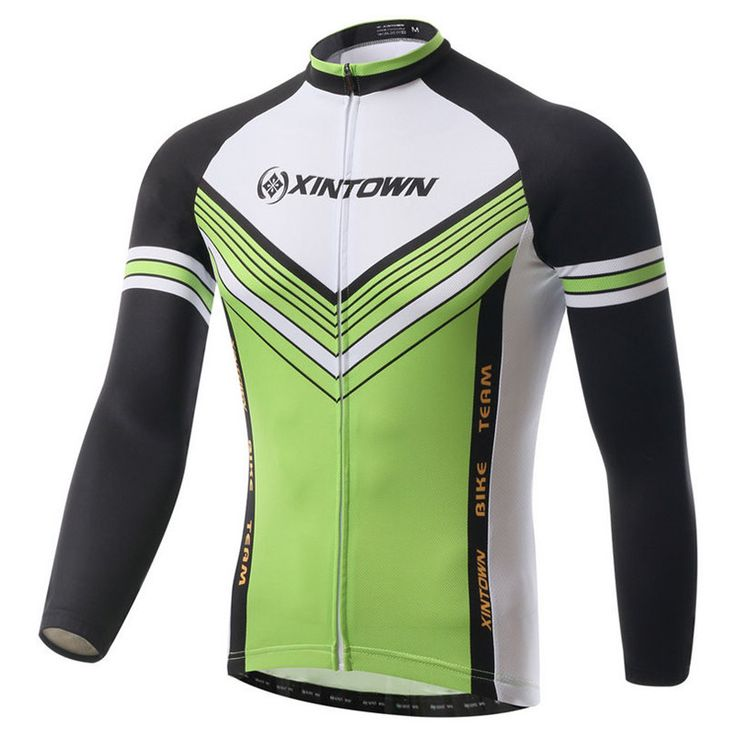 Xintown 2016 Mens Long Slevce Cycling Jersey Winter Cycling Clothing mtb Bike Jersey BIcycle Sportswear ropa invierno ciclismo