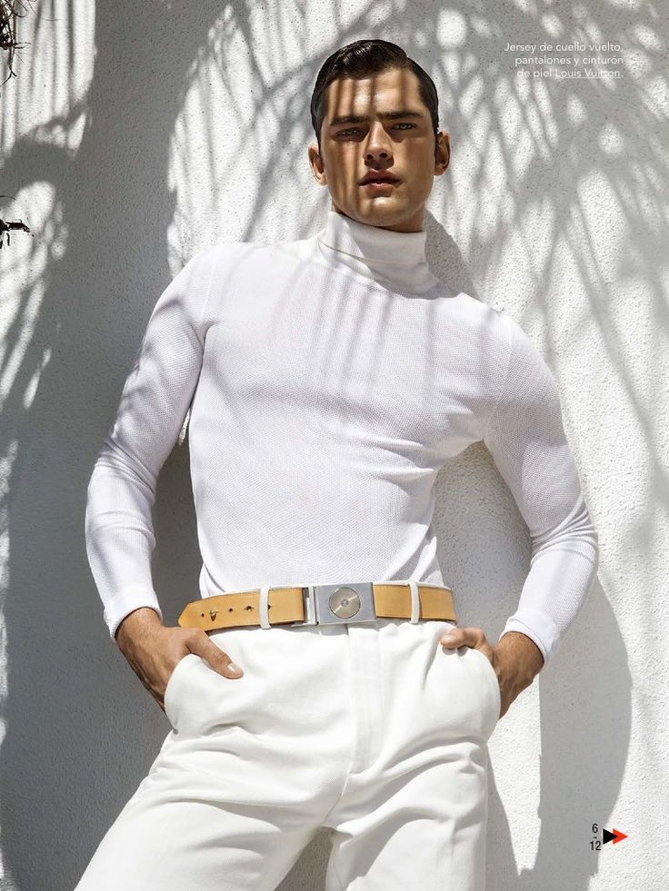 The Great OPry: Sean Models White Summer Fashions for May 2015 GQ Spain