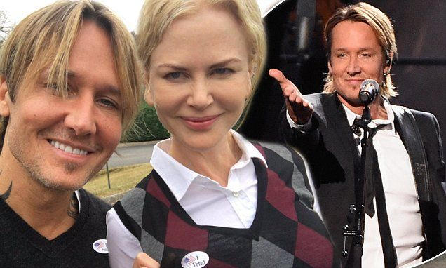 Keith Urban denies any marriage breakdown between him and Nicole Kidman | Daily Mail Online