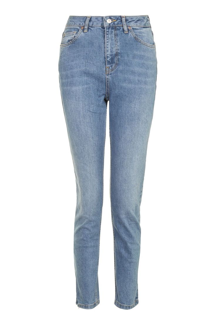 MOTO Mid Blue Orson Slim Jeans