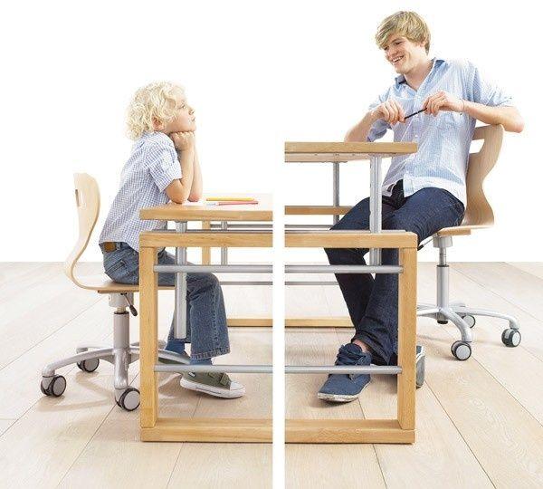 Matti Schreibtisch B 120cm Buche Massiv Weiss Lackiert In 2020 Kinderschreibtisch Schreibtisch Und Tisch