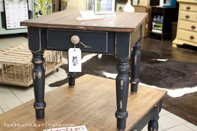 Pottery Barn Inspired Coffee & End Table Revival - Southern Revivals