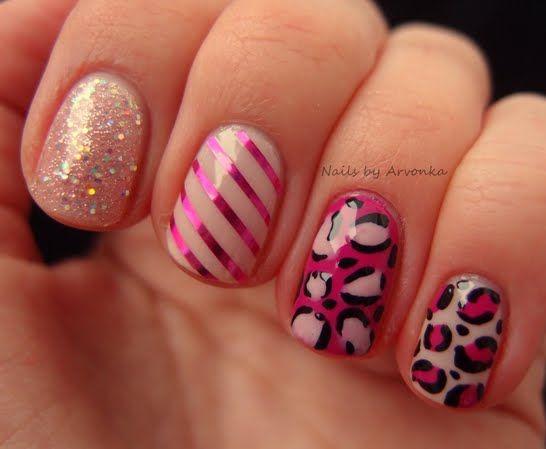 Pink Girly Manicure