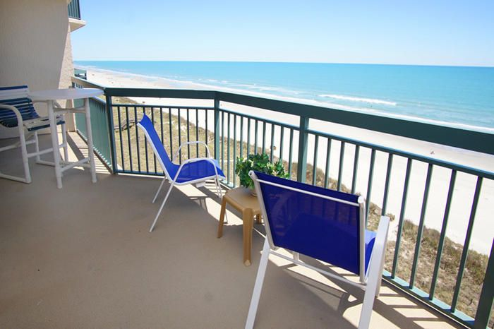 From your oceanfront balcony at North Shore Villas 802, you can look down to the resort's oceanfront lawn and lazy river. What a way to start your North Myrtle Beach vacation day! Take your fresh cup of coffee to the oceanfront balcony and gaze at the Atlantic Ocean while listening to the waves crash ashore. Your accommodations at this North Myrtle Beach vacation rental include a fully furnished kitchen.