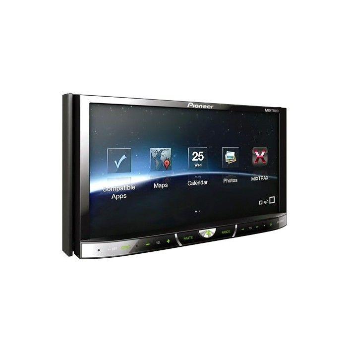 "Pioneer AVH-X5500BT Double Din Built in Bluetooth DVD AV system 7"""