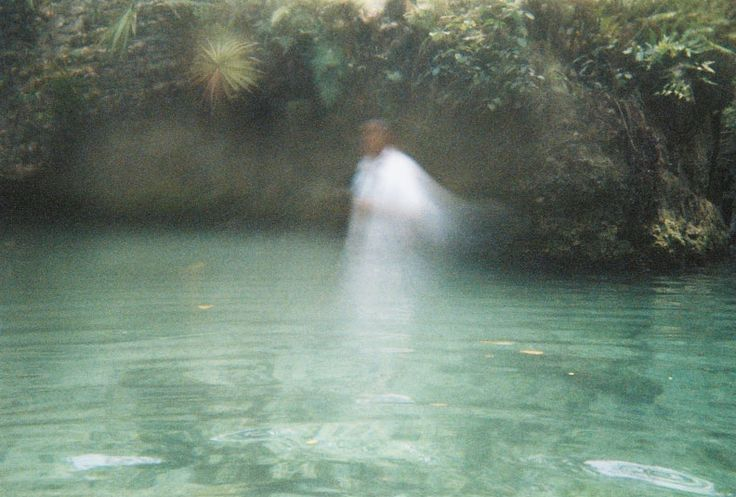 Real Picture of Angel on water