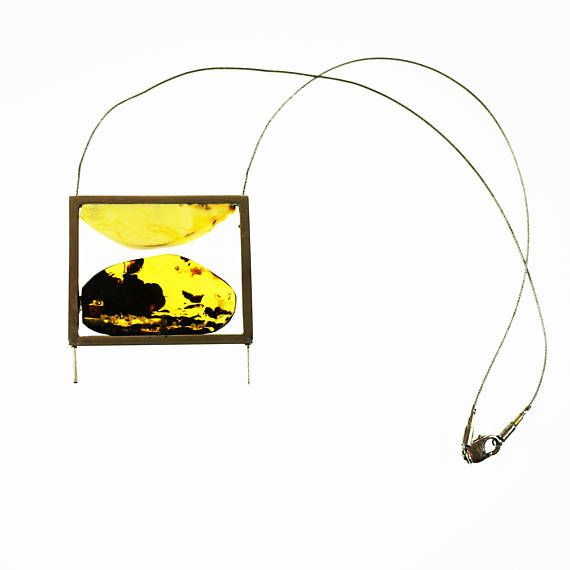 E.Salwierz Design Amber Necklace32 g