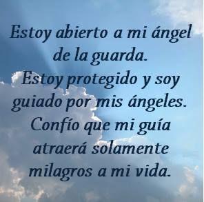 #UniversoDeAngeles Afirmación para atraer únicamente milagros.