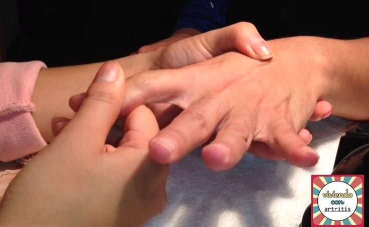 Viviendo con artritis: Masaje terapéutico de manos
