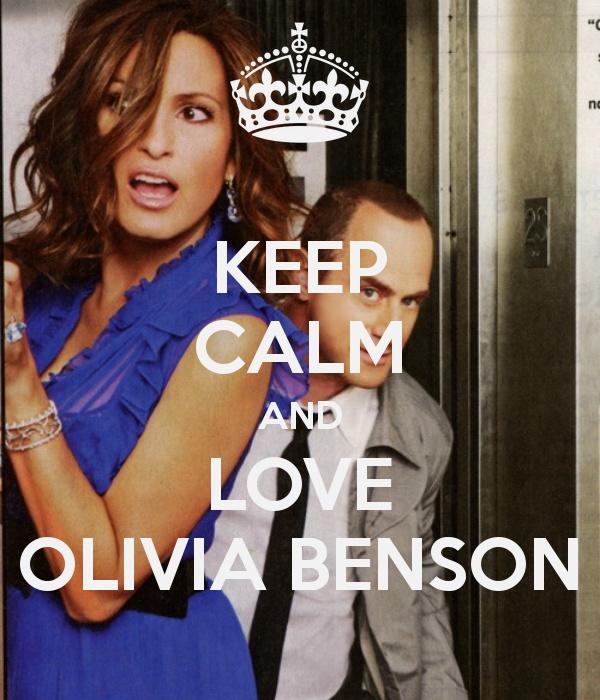 Its true..Olivia Benson is my hero.
