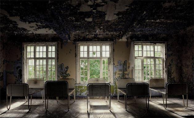 Dünyanın en etkileyici 20 terkedilmiş mekanı - Galeri - Lier akıl hastanesi, Norveç