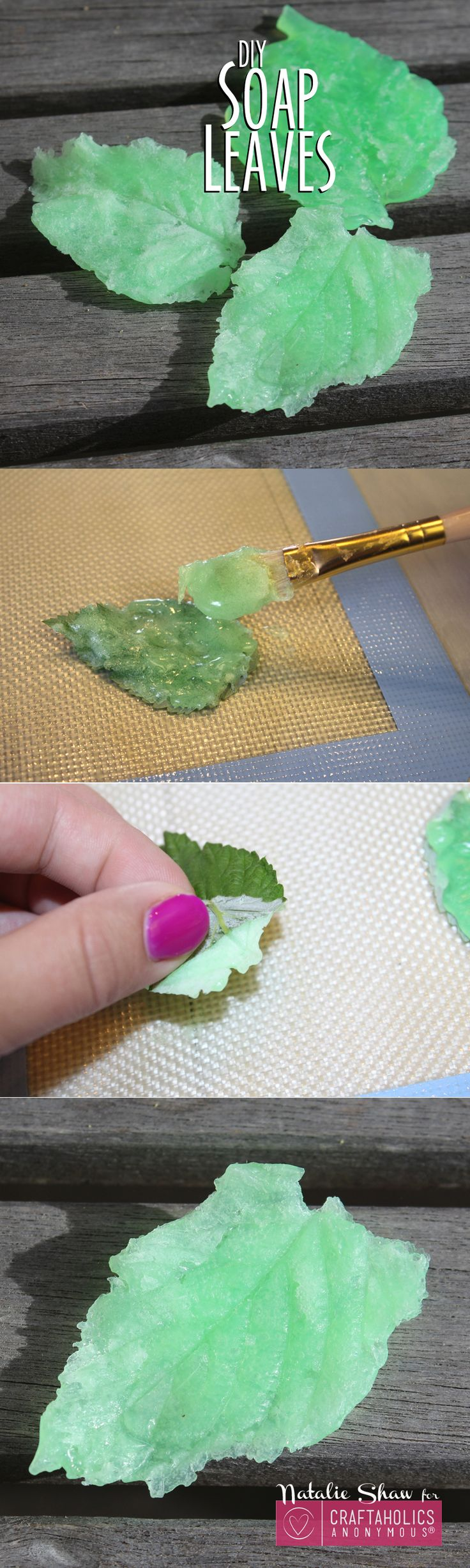 Craftaholics Anonymous® | DIY Soap Leaves