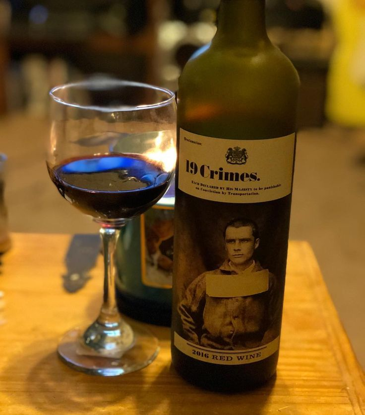 Trying a new wine for New Years 19 Crimes a delicious red