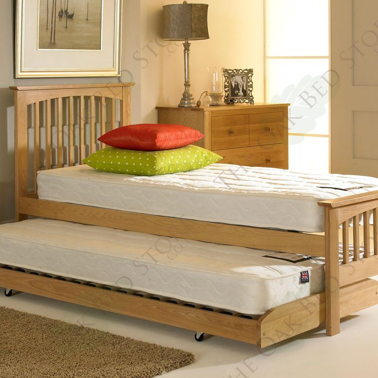 Heywood Solid Oak Guest Bed 3ft Single