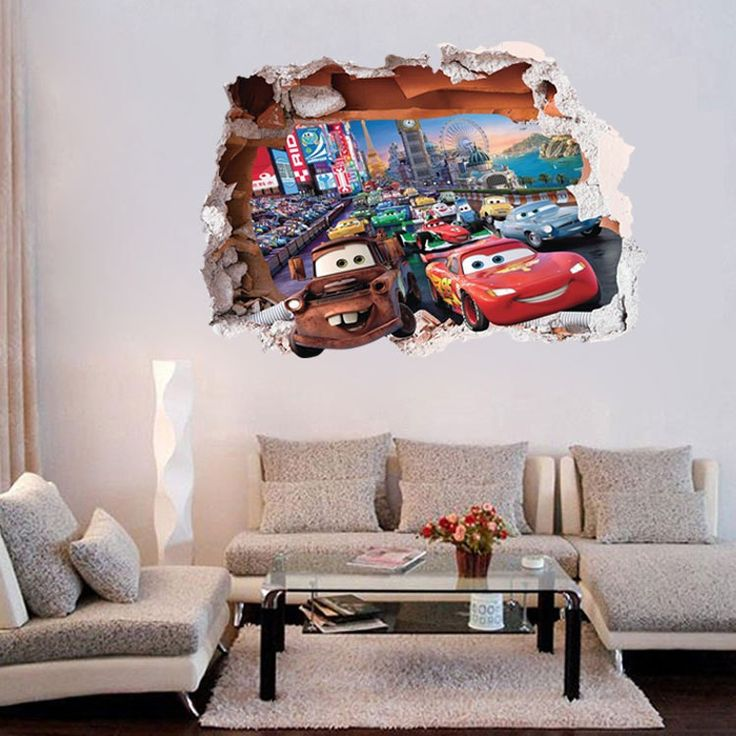 Disney/Pixar Cars Lightning McQueen And Mater   Wall Stickers Part 52