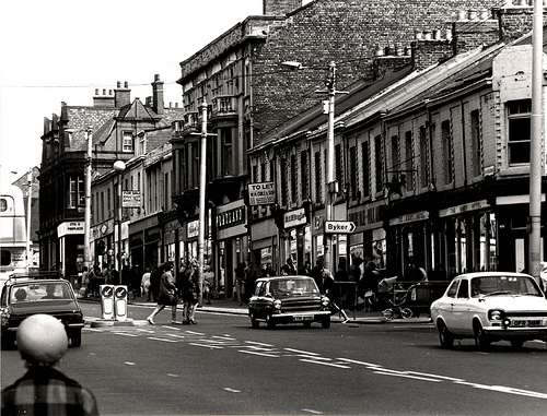 Shields Road Byker Newcastle Upon Tyne City Engineers 1974 by Newcastle Libraries