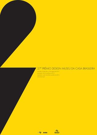 Museu da Casa Brasileira divulga cartaz vencedor 2013
