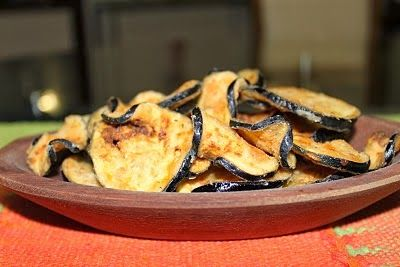 Universo dos Alimentos: Chips de Beringela