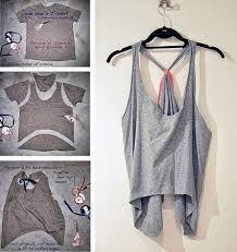 Resultado de imagen para reciclar ropa de hombre para mujer