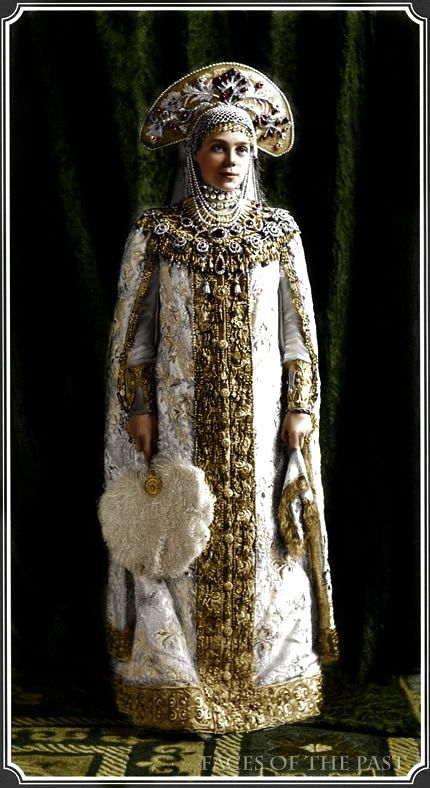 Grand Duchess Xenia Alexandrovna at the Winter Ball of 1903, by ~VelkokneznaMaria on deviantART