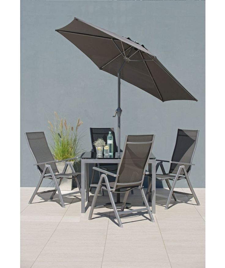 Malibu 4 Seater Patio Furniture Set At Argos Co Uk Your Online For Garden Table And Chair Sets Pinterest