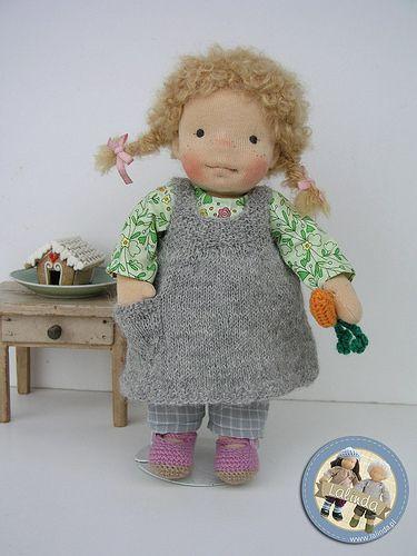 Lena- waldorf inspired doll   Agnieszka Nowak   Flickr