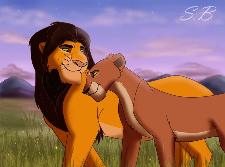 Mufasa and Scar's parents, King Ahadi and Queen Uru ...