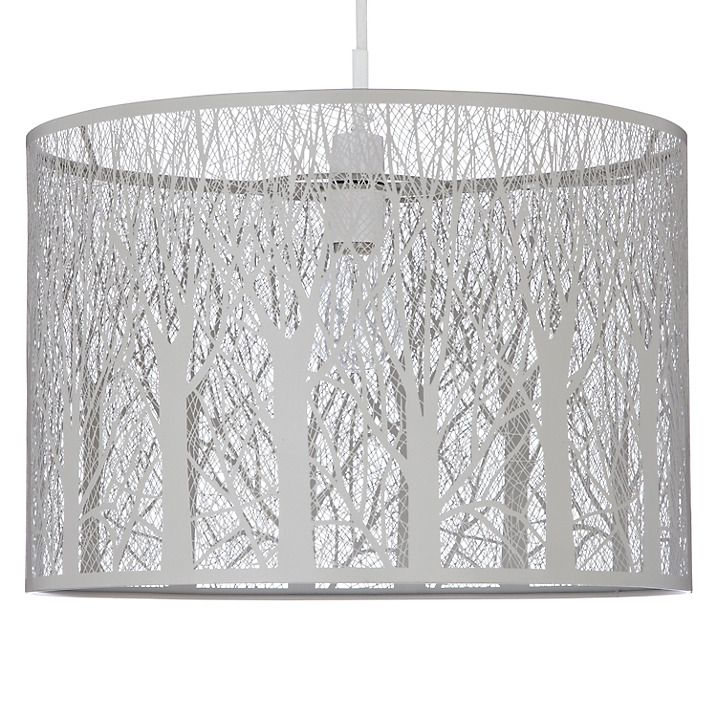 Buy John Lewis Devon Easy-to-fit Ceiling Shade, Taupe Online at johnlewis.com
