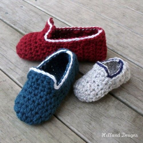 A super little pattern to make slippers for all the kiddies! A great stash buster project! Crocheted using bulky weight yarn or 2 strands of DK (light wors