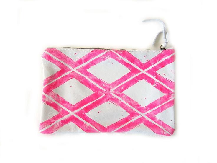 ARC of LA neon X pouch