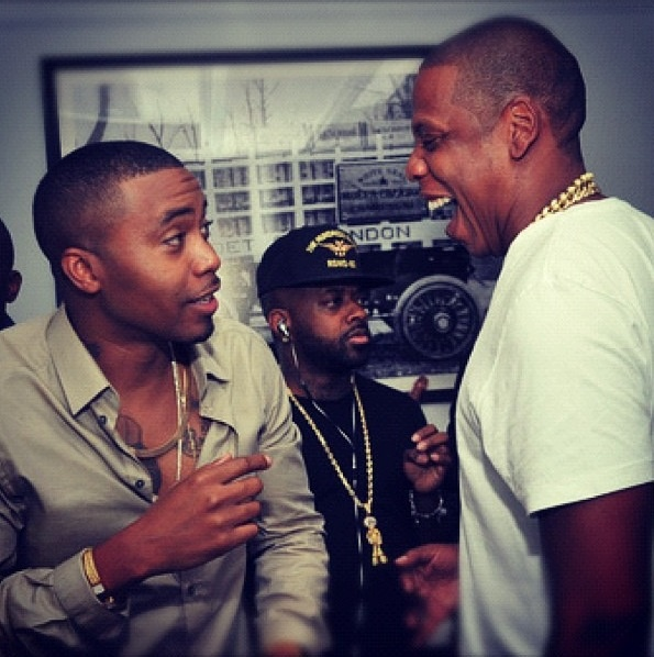 Nas, Jay & Jermaine a.k.a. some of the best to ever do it