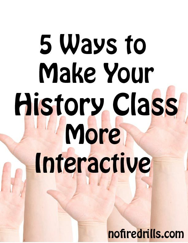 Back to School history lesson ideas to make your students come alive.