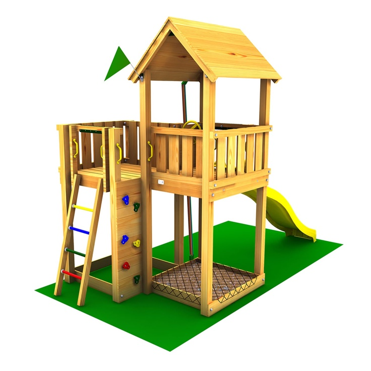 jungle gym mansion childrens play garden pinterest. Black Bedroom Furniture Sets. Home Design Ideas