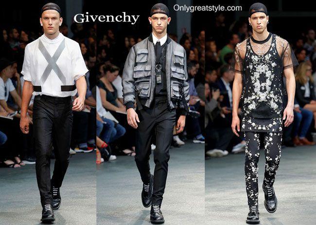 Givenchy spring summer 2015 menswear fashion clothing