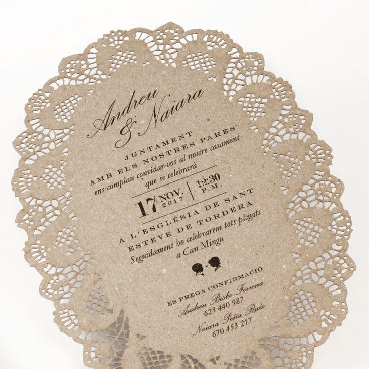 Tarjetas bodas papel reciclado . Invitació casament en caixa .  Invitaciones de Boda · Invitacions de Casament · Wedding Essence · Bodas con Encanto · Invitacions de Casament · Bodas Barcelona · Bodas Sevilla · Bodas Valencia · Bodas Madrid · Bodas Andorra