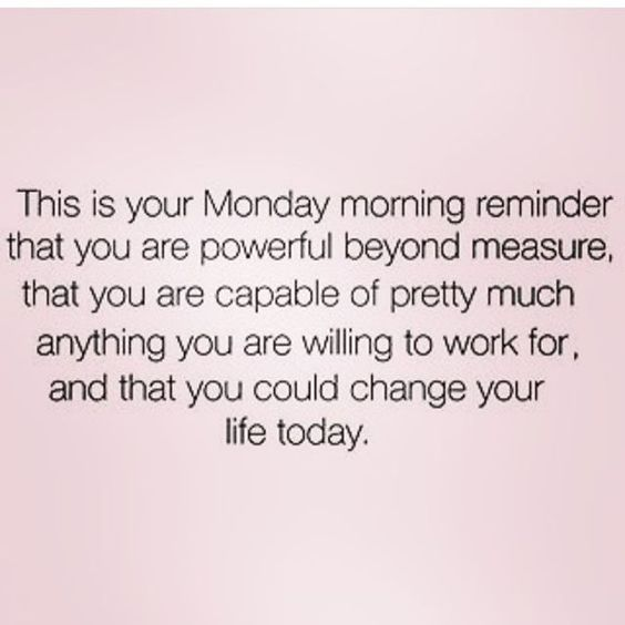 This is your Monday morning reminder that you are powerful beyond measure, that you are capable of pretty much anything you are willing to work for, and that you could change your life today. Yeah baby, this is totally #WildlyAlive! #selflove #fitness #health #nutrition #weight #loss LEARN MORE → www.WildlyAliveWeightLoss.com