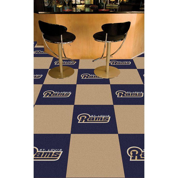 Los Angeles Rams NFL Team Logo Carpet Tiles