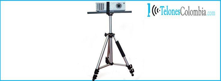 Base tipo Trípode para video beams