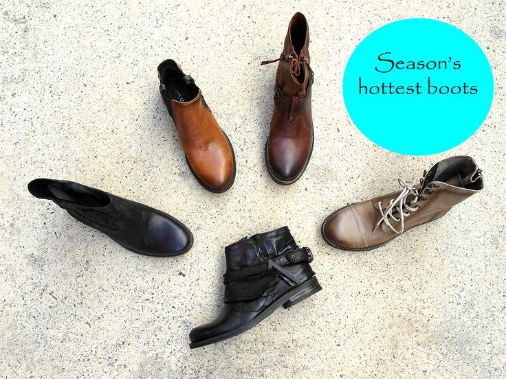 Season's hottest boots Misano Winter 2015