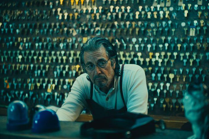 Film still for David Gordon Green's MANGLEHORN - starring Al Pacino and Holly Hunter - screening at #TIFF14
