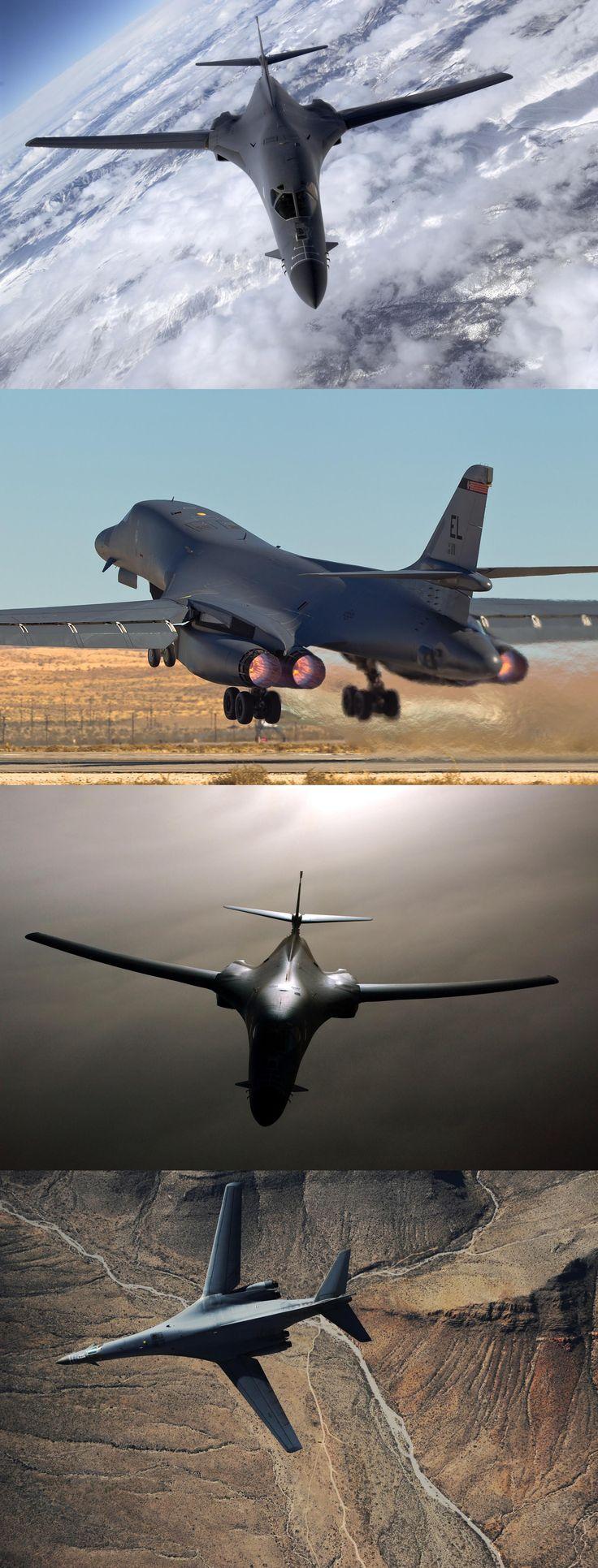 Plane, bomber, b-1b, lancer, nevada