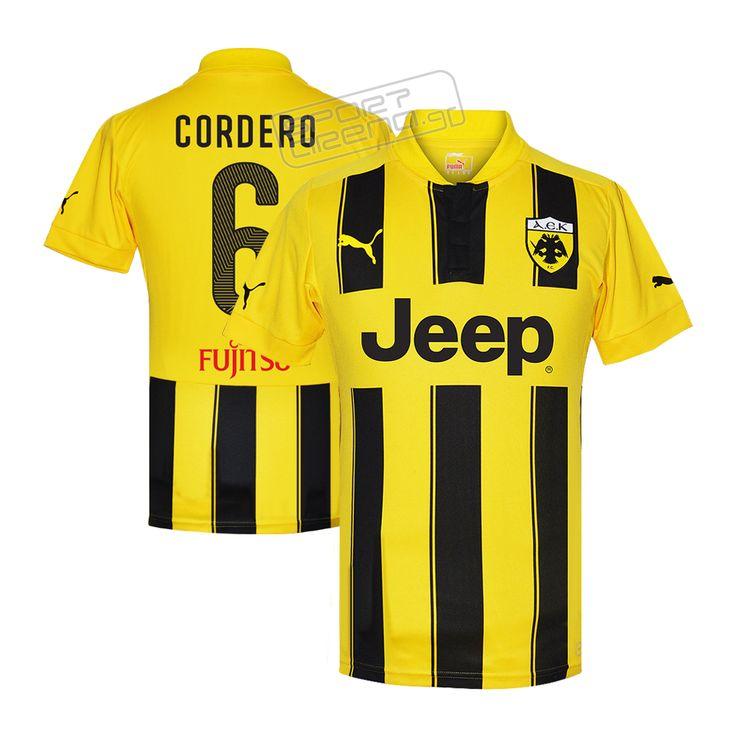 AEK 2014/15 home jersey CORDERO