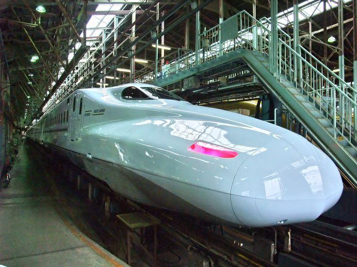 Comboio Shinkansen série N700 - 7000, (Sakura). JR Kyushu. Fotografia: Pagemoral.