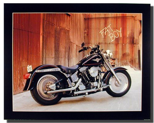 Jazz up your decor and create a mesmerizing aura in around your living space with this Harley Davidson fat boy motorcycle bike art print poster. It would surely create a wonderful ambience into your home. Discover the uniqueness of this poster and Order today for its durable quality and excellent color accuracy. Hurry up and grab this wonderful wall poster for its durable quality and high degree of color accuracy.