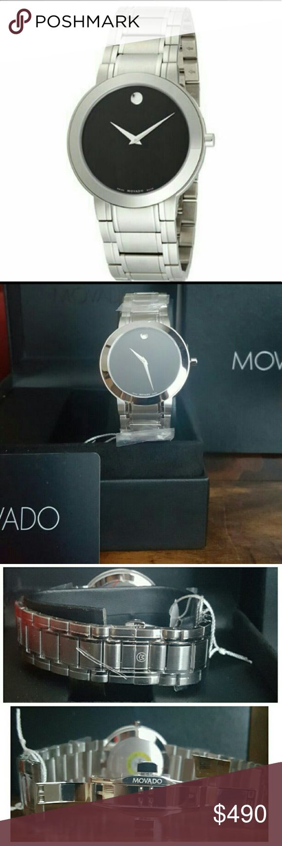 NWT Movado $995 Stiri Stainless steel Men's watch NWT Movado $995 Men's STIRI STAINLESS STEEL Watch  Firm price?firm price firm price firm price firm price firm price   $490.00 . AUTHENTIC WATCH? . AUTHENTIC BOX? . AUTHENTIC MANUAL?  SHIPPING? PLEASE ALLOW FEW BUSINESS DAYS FOR ME TO SHIPPED IT OFF.  THANK YOU FOR YOUR UNDERSTANDING. Movado  Accessories Watches