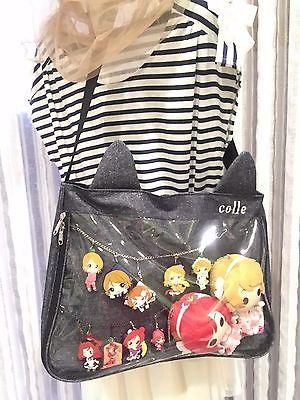 Transparent Cute Messenger Bag Itabag Neko Kawaii Anime Collection