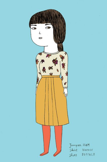 What I Wore Today : October 10th 2010 by Ana Albero